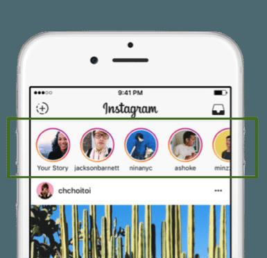 Stories på Instagram