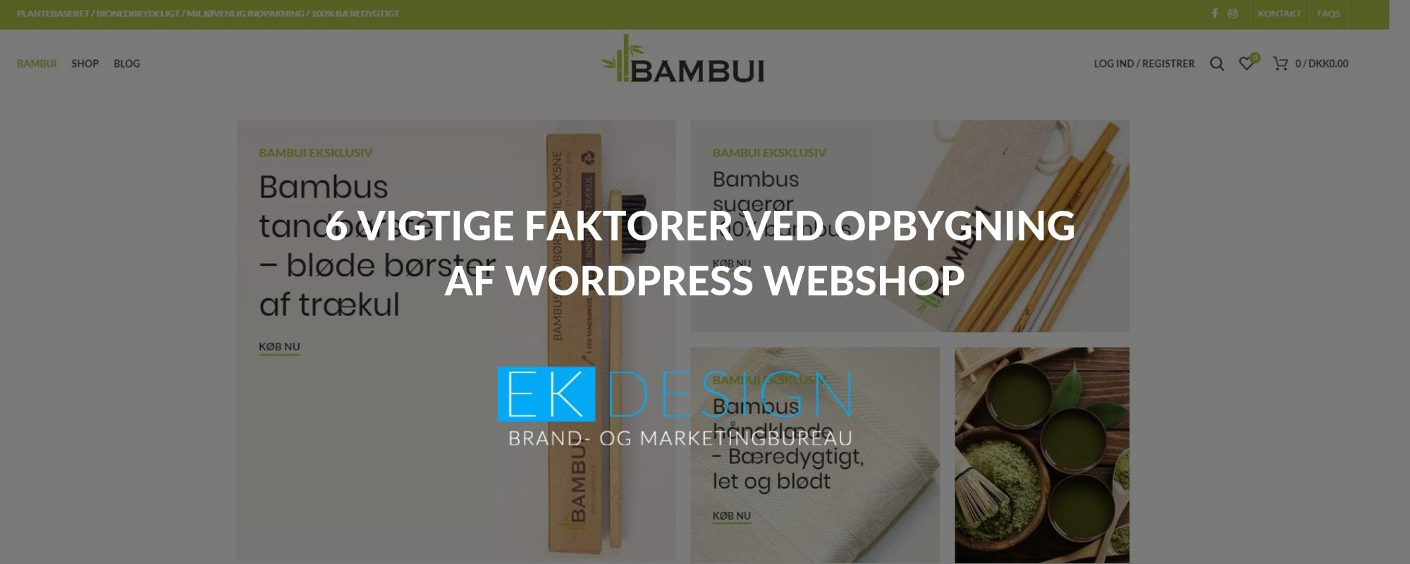 Bambui hjemmesiden