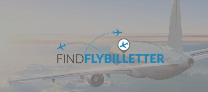 Findflybilletter logo
