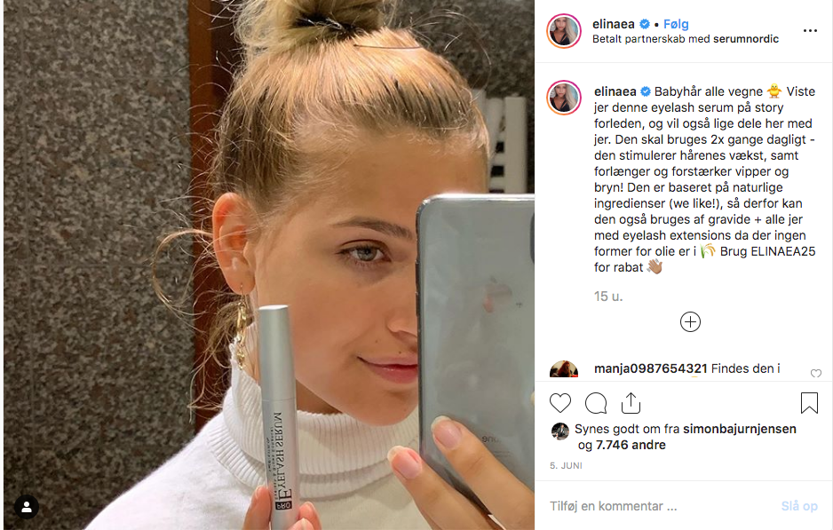 instagram influencer marketing - Elina