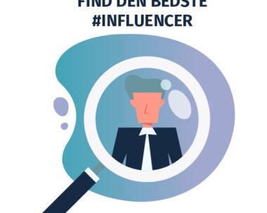 Find de bedste influencere
